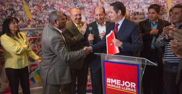 Movimiento Patria Nueva, del General Mendieta, apoyará a Vargas Lleras