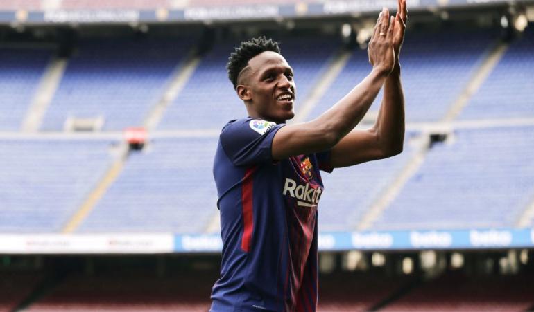Yerry Mina DT Valver Barcelona: Si Mina está convocado, puede jugar. Pero depende del DT: Valverde