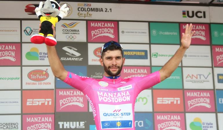 Fernando Gaviria ganador segunda etapa Oro y Paz: Dos de dos: Gaviria se queda con la segunda etapa de la Oro y Paz