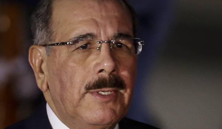 Danilo Medina, presidente de República Domminicana