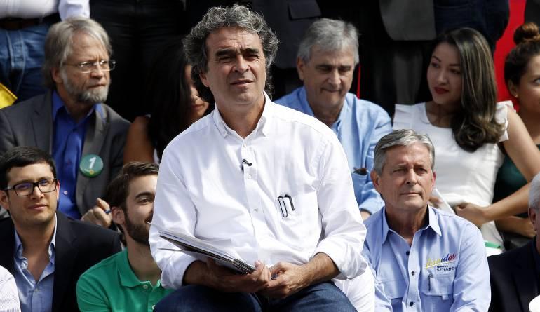 Sergio Fajardo: La Alianza Verde presentó oficialmente su campaña con Sergio Fajardo