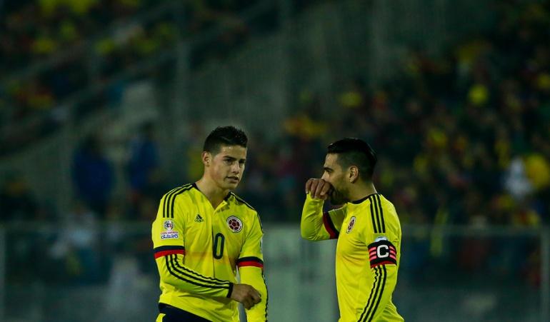 James Rodríguez: Falcao merece jugar un Mundial: James
