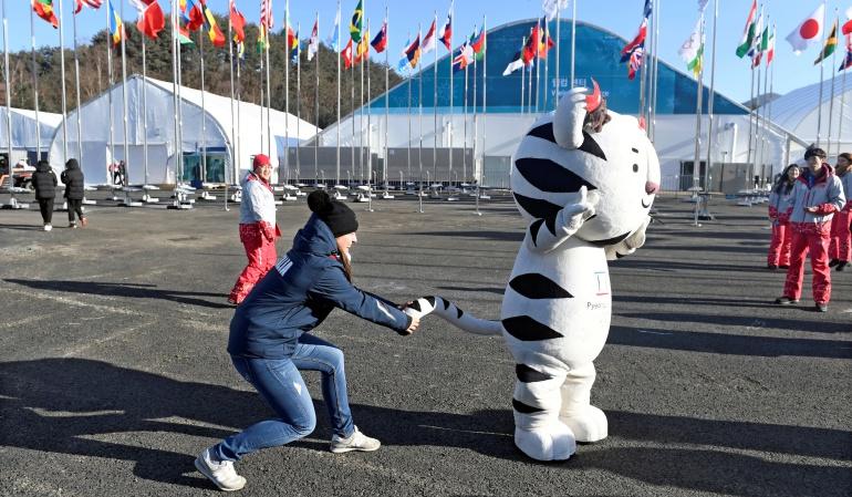 Robots esquiadores también competirán en los Juegos de PyeongChang