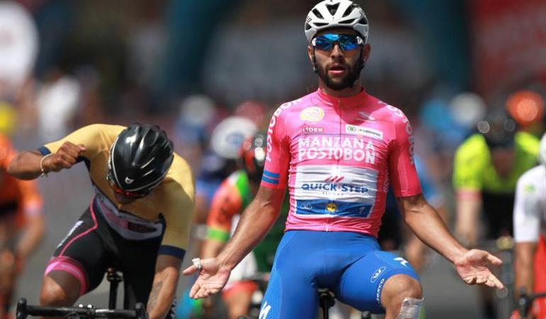 Fernando Gaviria ganador etapa 3 Oro y Paz: Cero y van tres: Fernando Gaviria repite victoria en la Oro y Paz