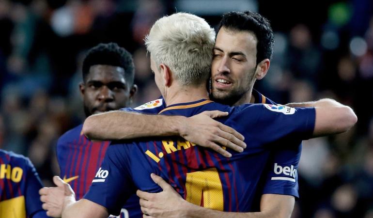 Yerry Mina podría ser titular con el Barcelona ante Getafe