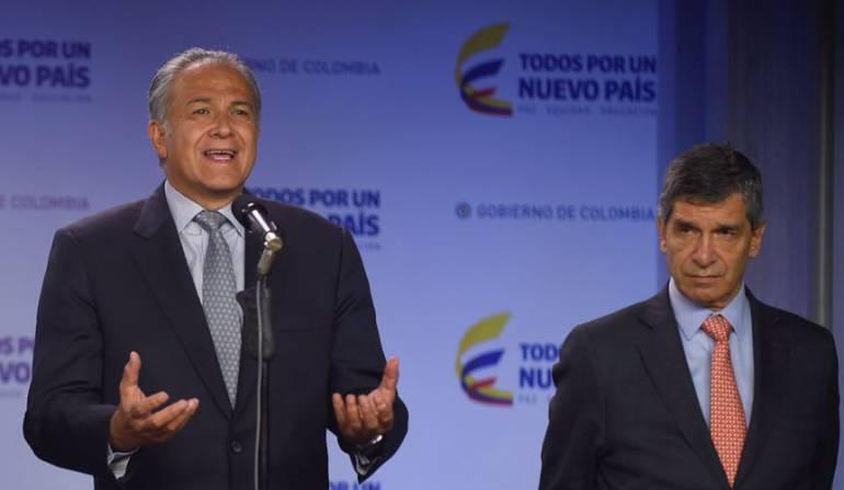 Óscar Naranjo, vicepresidente de la República