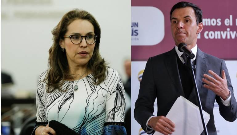 Viviane Morales y Guillermo Rivera