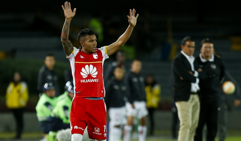 Morelo Santa Fe: Nosotros no contratamos futbolistas: Morelo, jugador de Santa Fe