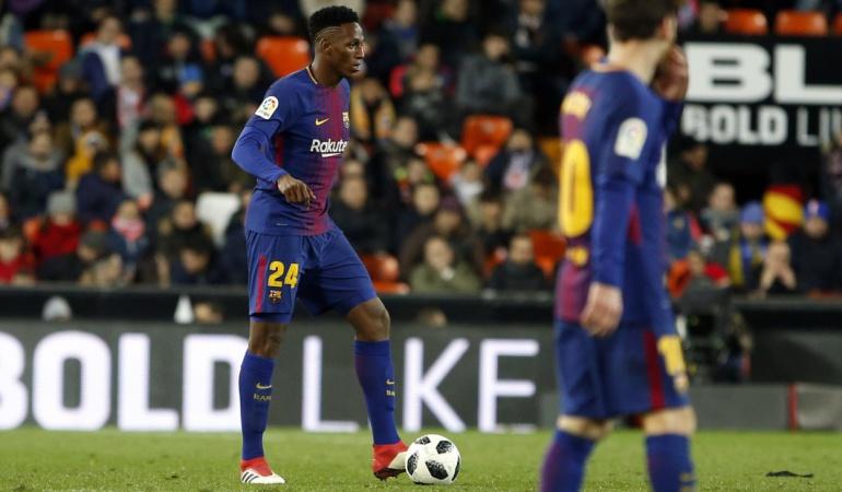 Yerry Mina Barcelona: Así fue el debut de Yerry Mina con el Barcelona