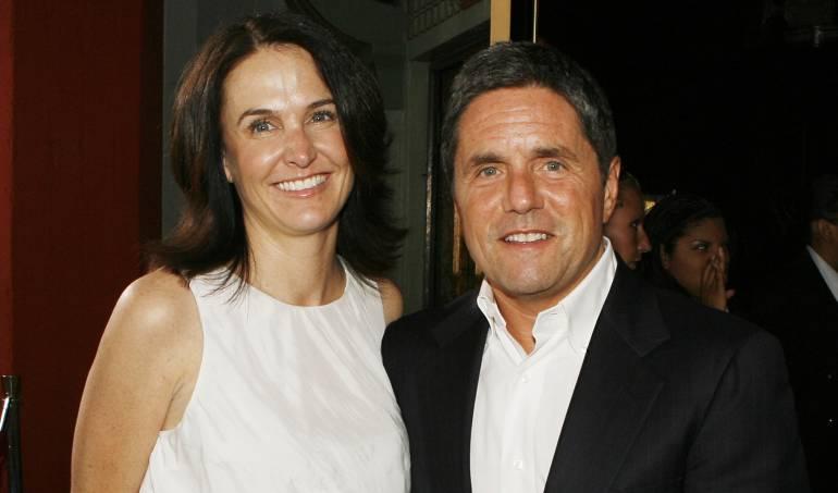 Jill Messick y Brad Grey