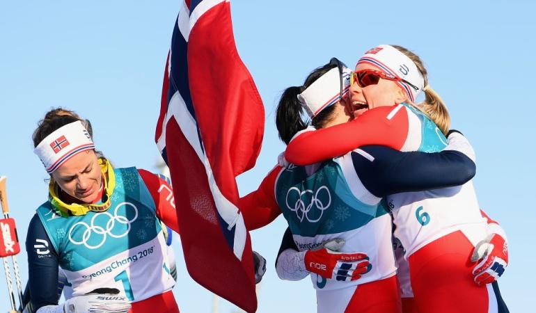 juegos de invierno Pyongchang 2018: Noruega conquistó el medallero olímpico en Pyeongchang 2018