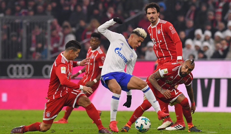 James Bayern: James Rodríguez fue titular en la victoria del Bayern Múnich