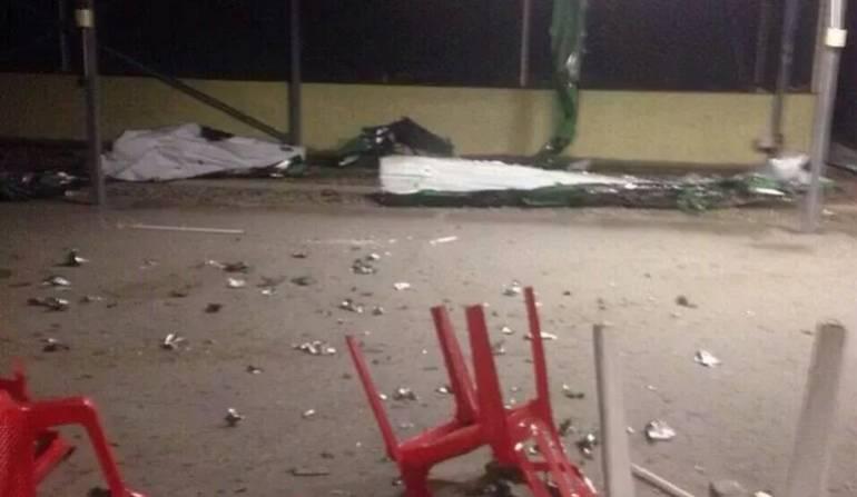 El ataque se produjo en el municipio de Saravena, Arauca