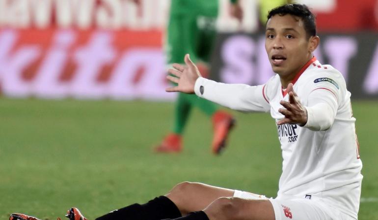 Muriel Sevilla Girona: Muriel se retiró con una molestia y es duda para enfrentar al Manchester