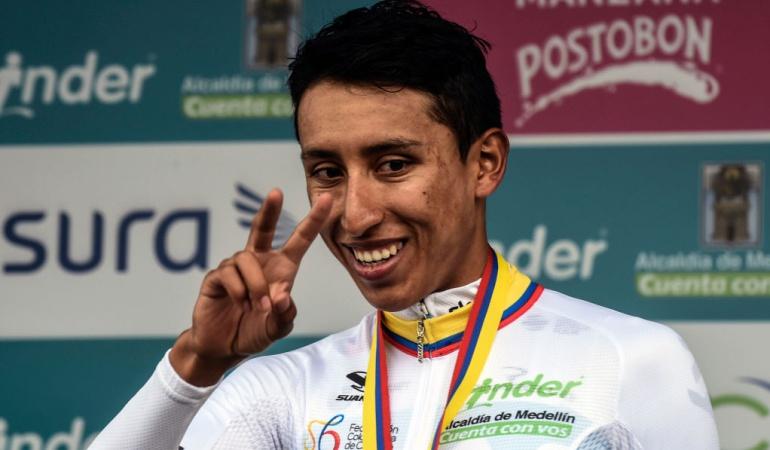 Egan Bernal Campeón Colombia Oro Y Paz: ¡Egan Bernal, primer campeón de la Colombia Oro y Paz!