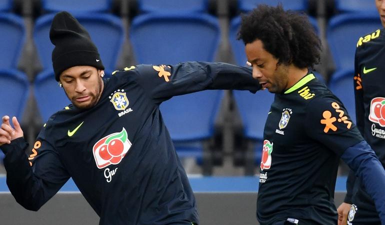 Neymar Real Madrid Marcelo: Neymar jugará algún día en el Real Madrid: Marcelo
