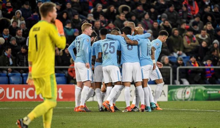 Basilea - Manchester City Liga de Campeones: El City aplasta al Basilea como visitante y ya piensa en los cuartos