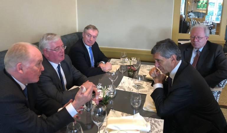 Irlanda ratificó su apoyo a la construcción de paz en Colombia