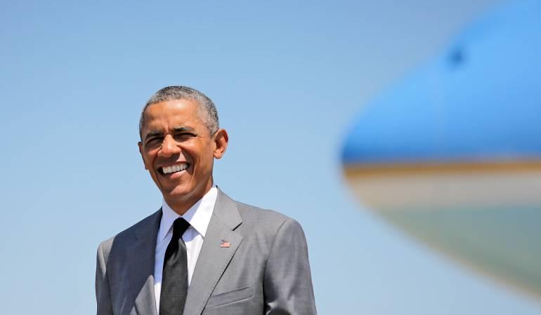 Barack Obama, expresidente de los Estados Unidfos