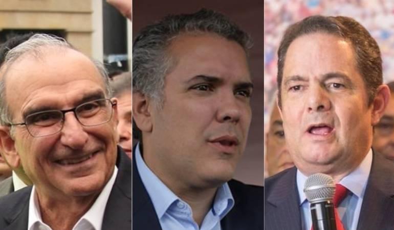 De la Calle, Duque, Vargas Lleras