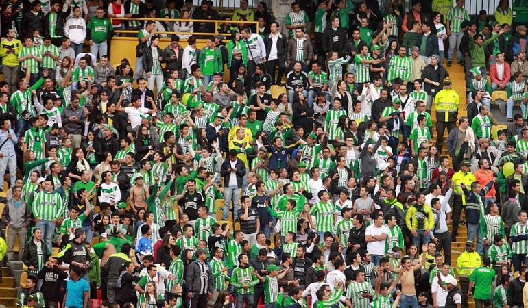 Hinchas de Nacional prohibido ingreso: Hinchas de Nacional no podrán ingresar el domingo al juego ante Millonarios