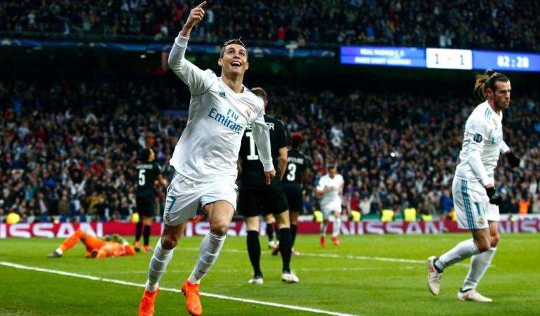 Real Madrid Vs. PSG en vivo: Cristiano lidera la remontada del Madrid que toma ventaja en casa ante PSG