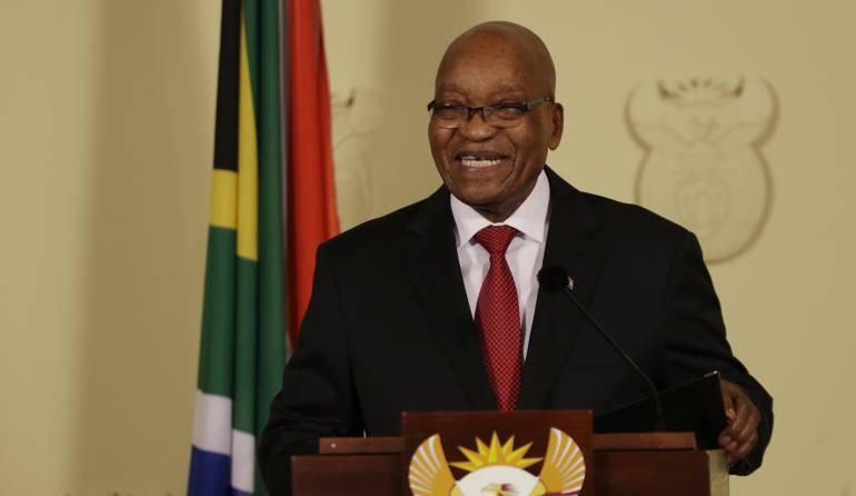 Jacob Zuma, presidente de Sudáfrica