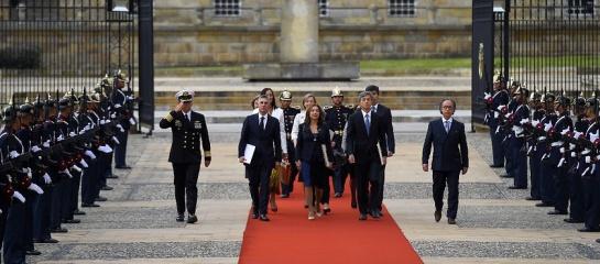Reunión Santos con cuerpo diplomático internacional: Drogas, Venezuela y ELN, los temas de Santos en reunión con embajadores
