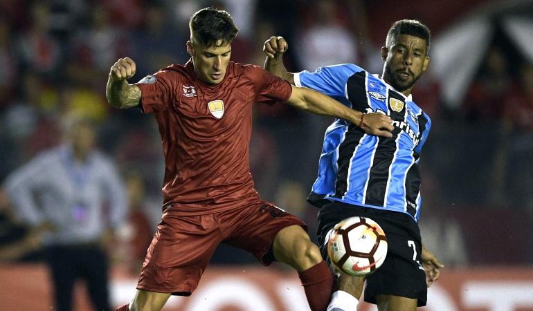 Independiente Gremio Recopa Sudamericana: Independiente y Gremio igualaron en el primer juego de la Recopa