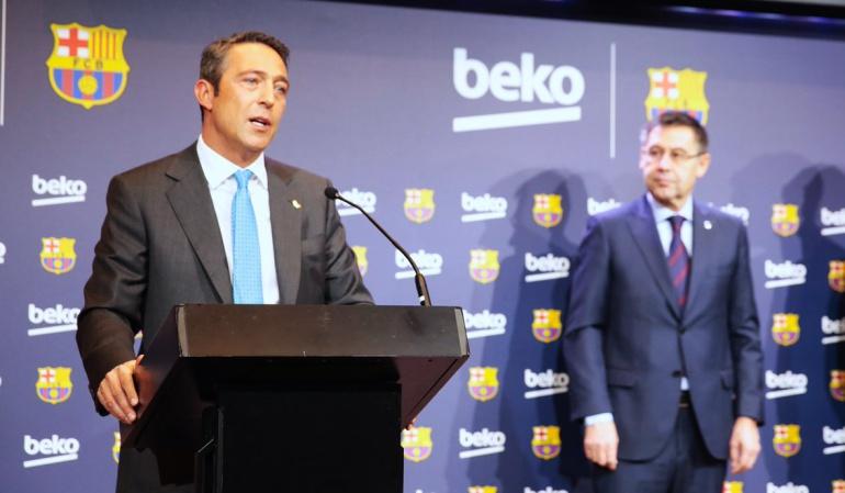 Beko patrocinará la camiseta de entrenamiento de Barcelona por €57 millones