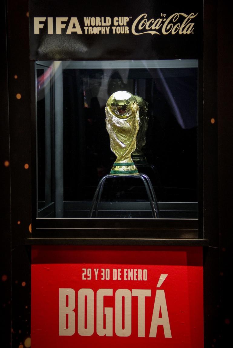 Mundual rusia 2018: El trofeo de la Copa Mundo estará en Bogotá 3 de abril