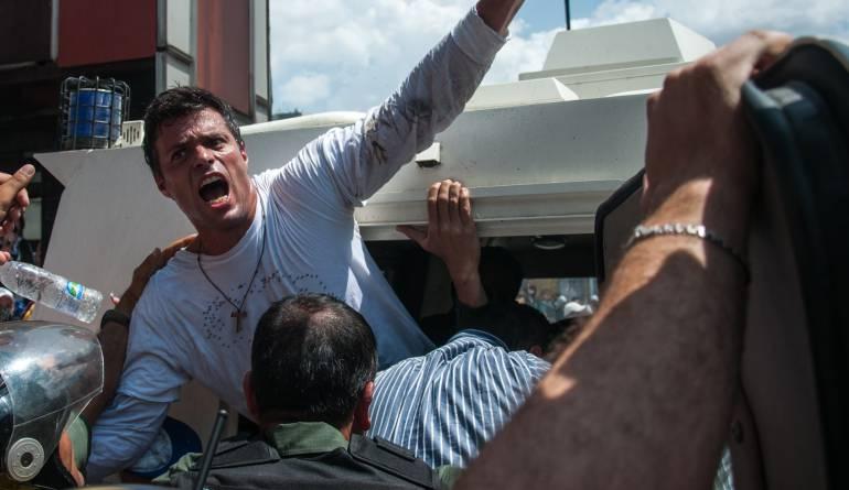 Político, economista y líder opositor al Gobierno venezolano; Leopoldo Eduardo López Mendoza