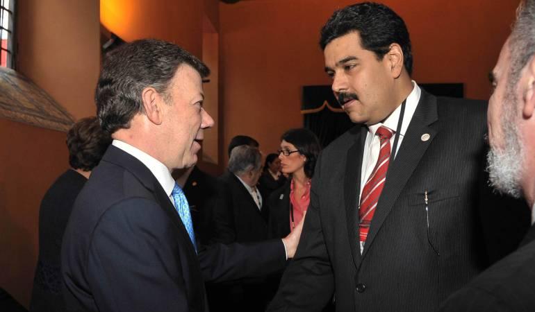 Relaciones biolaterales colombo - venezolanas: Colombia aclara carta dirigida a Maduro y otros 6 presidentes de la región