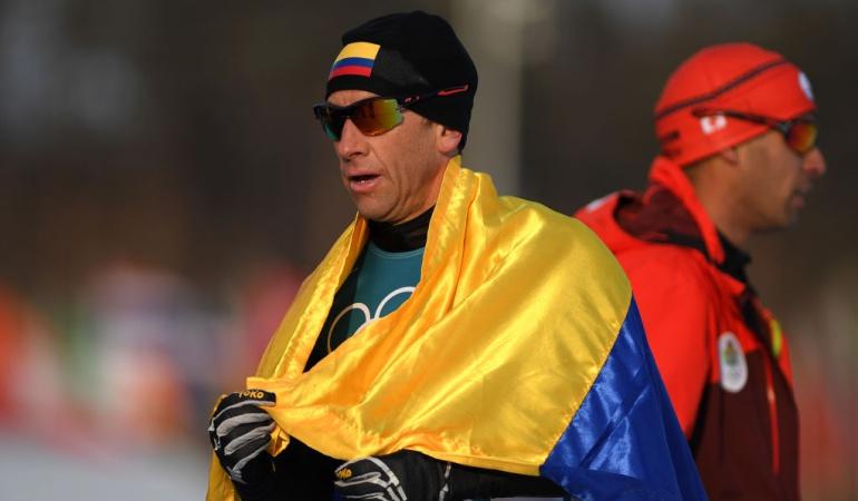 Sebastian Uprimny Juegos Olímpicos Invierno Colombia: Sebastián Uprimny abrió la participación colombiana en PyeongChang 2018