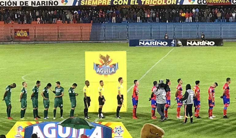 Liga Águila cuarta jornada: Con empate entre Pasto y Equidad finalizó la cuarta jornada de la Liga