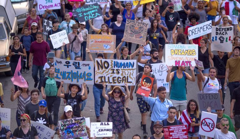 Se hundió en el Senado de EE.UU proyecto bipartidista sobre migración