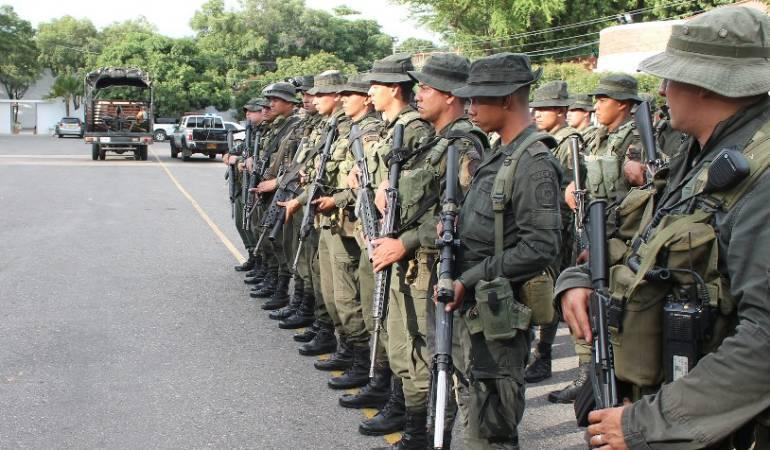 Hostigamientos Arauca.: Hostigan estación de policía de Fortul en Arauca