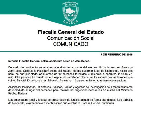 Sismo en México: Trece muertos al caer helicóptero tras terremoto de México
