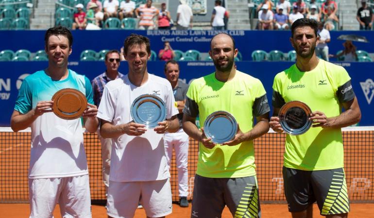 Cabal Farah ATP 250 de Buenos Aires: Cabal y Farah cayeron en la final del ATP 250 de Buenos Aires