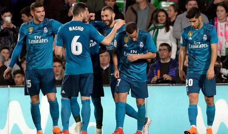 Real Betis 3-5 Real Madrid: Real Madrid remontó ante el Betis en un juego cargado de goles