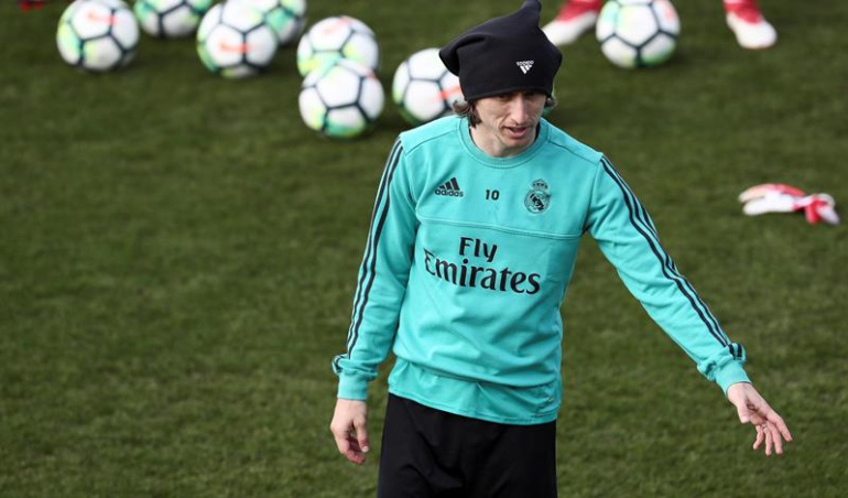 Luka Modric ausente Leganés lesión: Luka Modric, ausente por lesión muscular en juego ante el Leganés