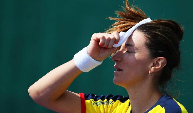 Mariana Duque Curitiba: Mariana Duque fue eliminada en las semifinales del ITF de Curitiba