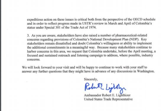 Entrada de Ocde: EEUU pide aclarar dudas antes de apoyar ingreso de Colombia a OCDE