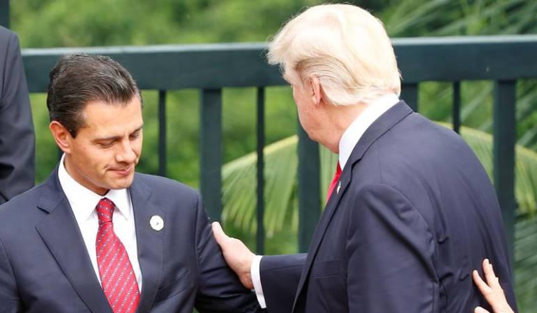 Peña Nieto suspende visita a EE.UU por discusión con Trump sobre muro