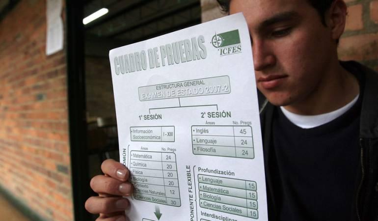 Icfes: Más de 92.000 colombianos presentan este domingo prueba Saber Icfes