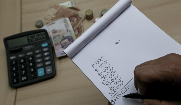 Imagen representativa del ahorro de los colombianos