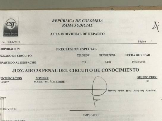 Escolta Muñoz: En abril cerrarán investigación contra escolta que mató a ladrón en Bogotá
