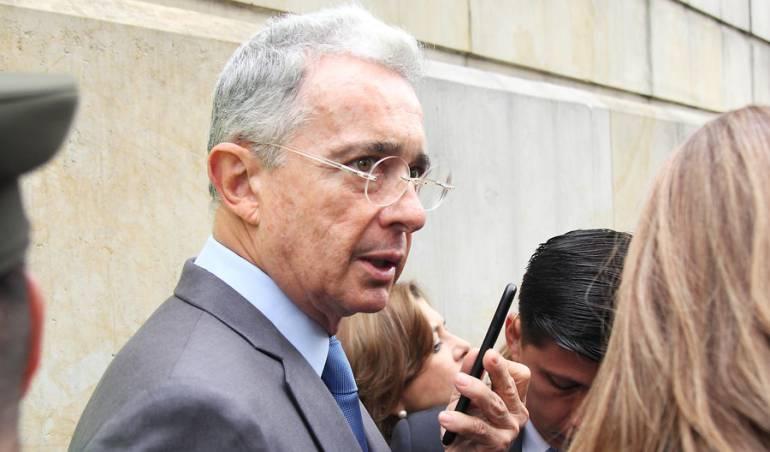 Ex presidente Álvaro Uribe