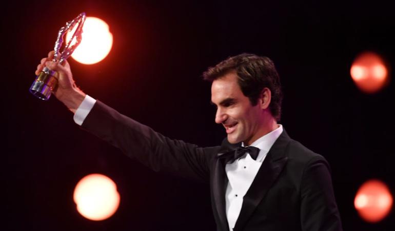 Federer Laureus: Roger Federer gana el Premio Laureus al Mejor Regreso del Año
