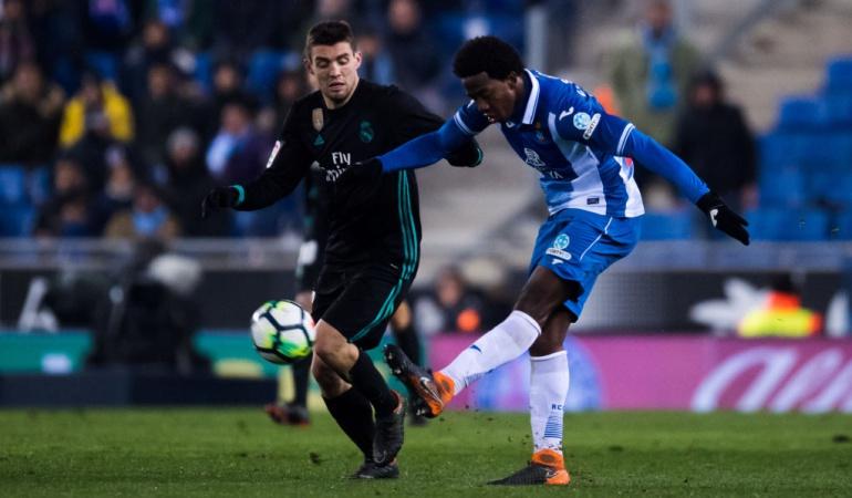 Carlos Sánchez Espanyol 1-0 Real Madrid: Con Carlos Sánchez los 90 minutos, Espanyol derrotó al Real Madrid